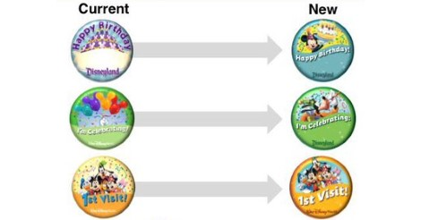 New Free Button Designs Are Coming to Disney Parks
