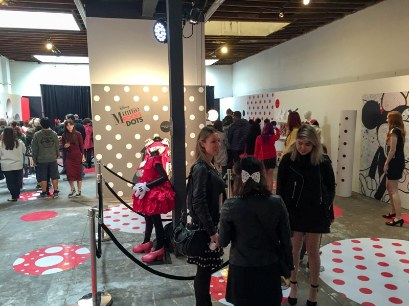 Celebrating Disney Fashion at Minnie Rocks the Dots Los Angeles