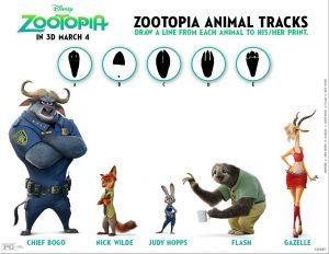 ZOOTOPIA Coloring Pages and Printable Activity Sheets