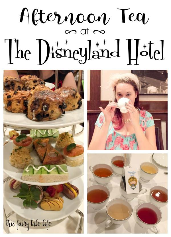Afternoon Tea at The Disneyland Hotel