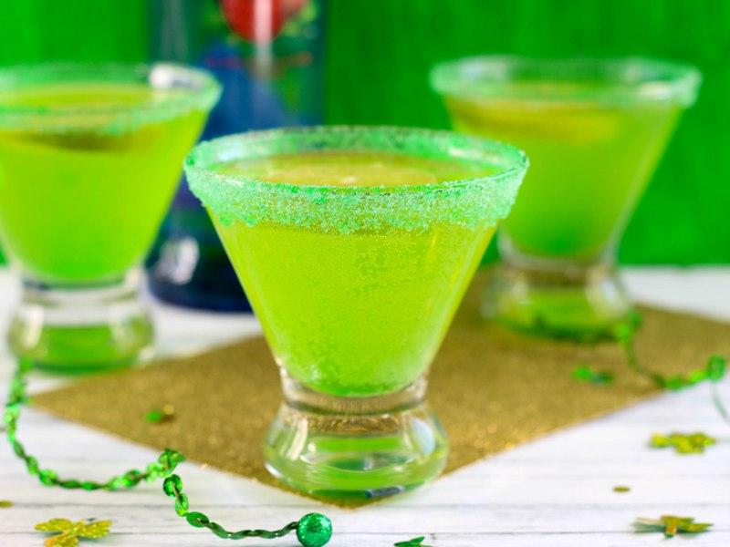 Lucky Leprechaun Martini Recipe