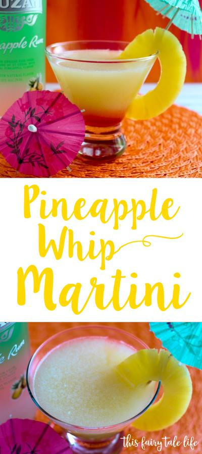 Pineapple Whip Martini