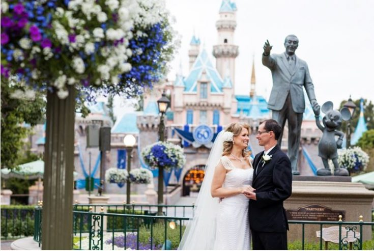How to Take Wedding Photos Inside Disneyland