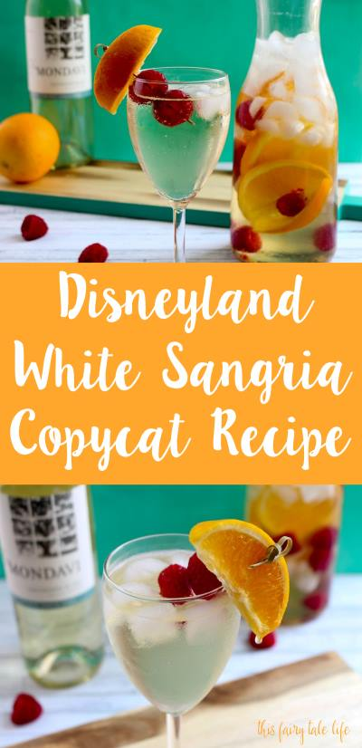 Disneyland White Sangria Copycat Recipe