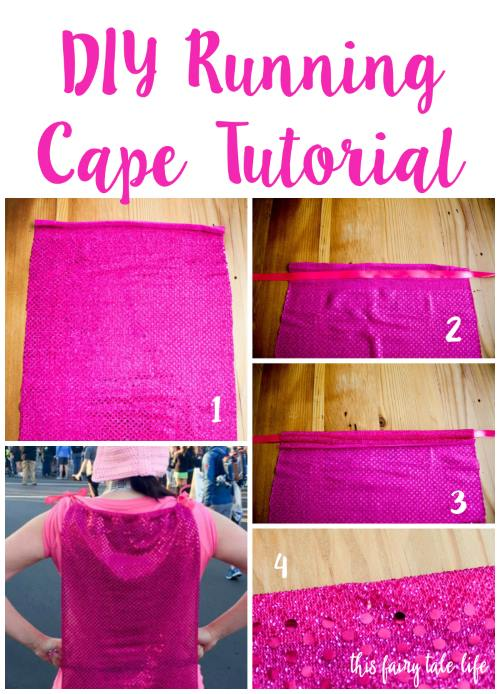 DIY Running Cape Tutorial