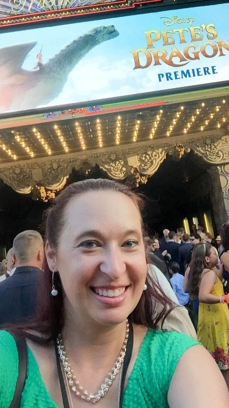 It Wasn't Imaginary - My Night at the PETE'S DRAGON Green Carpet Premiere