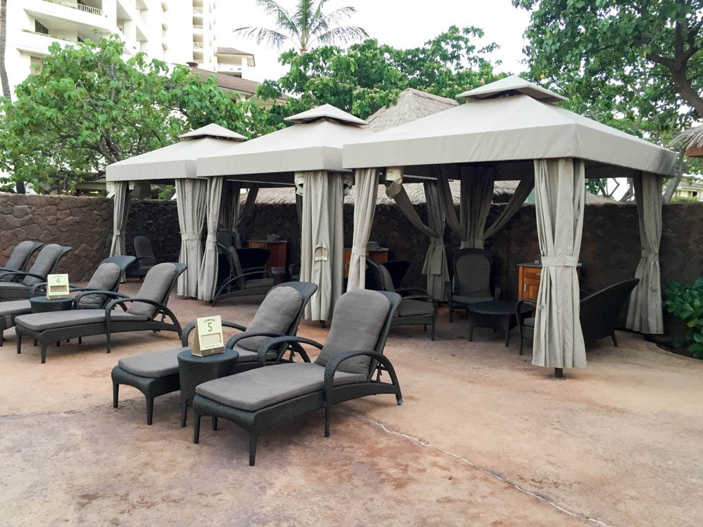 Hawaii Trip Report – Day 6 – Aulani Cabana Life