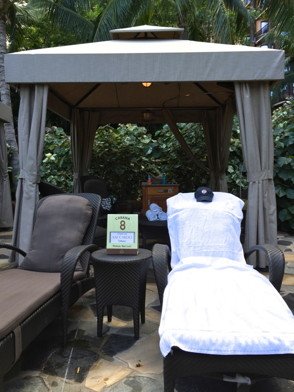 Hawaii Trip Report – Day 6 – Aulani Cabana Life