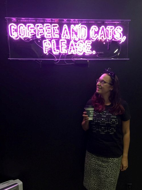 Coffee and Cats are the Purrfect Combo at Crumbs & Whiskers Los Angeles