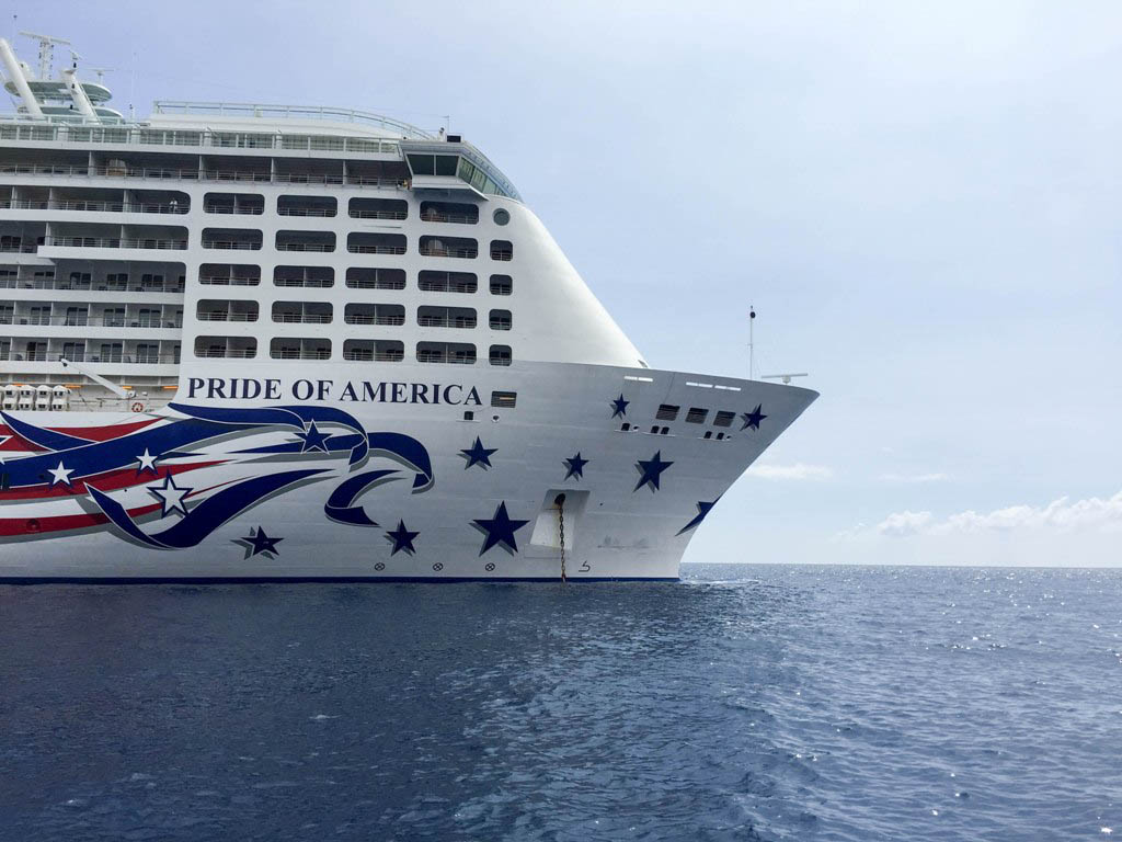 All Aboard the Norwegian Pride of America