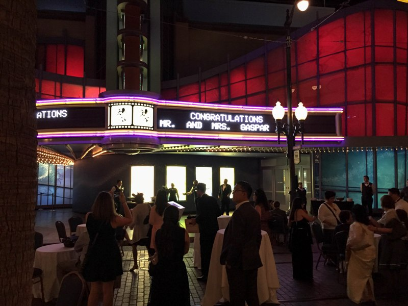 A True Guest Post: Michelle and George's Animation Building Disneyland Wedding