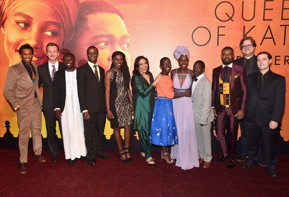 An Inspiring Evening at the QUEEN OF KATWE Red Carpet Premiere