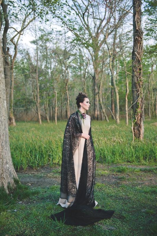 Romantic Maleficent Fantasy Wedding Shoot