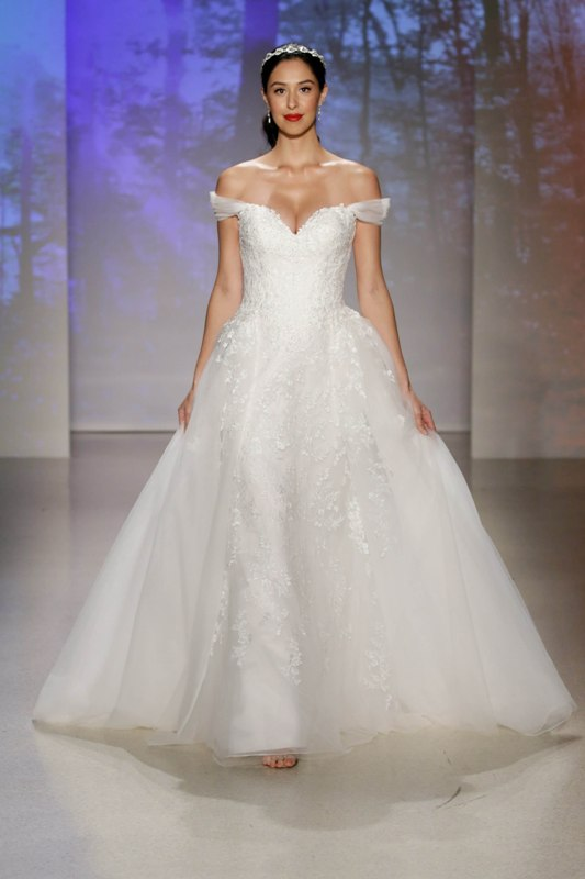 1608bb54ef9 Your First Look at the 2017 Disney Wedding Gowns from Alfred Angelo