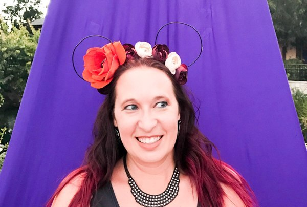 DIY Boho Halloween Mickey Ears