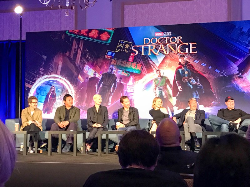 Interview with the Cast of DOCTOR STRANGE