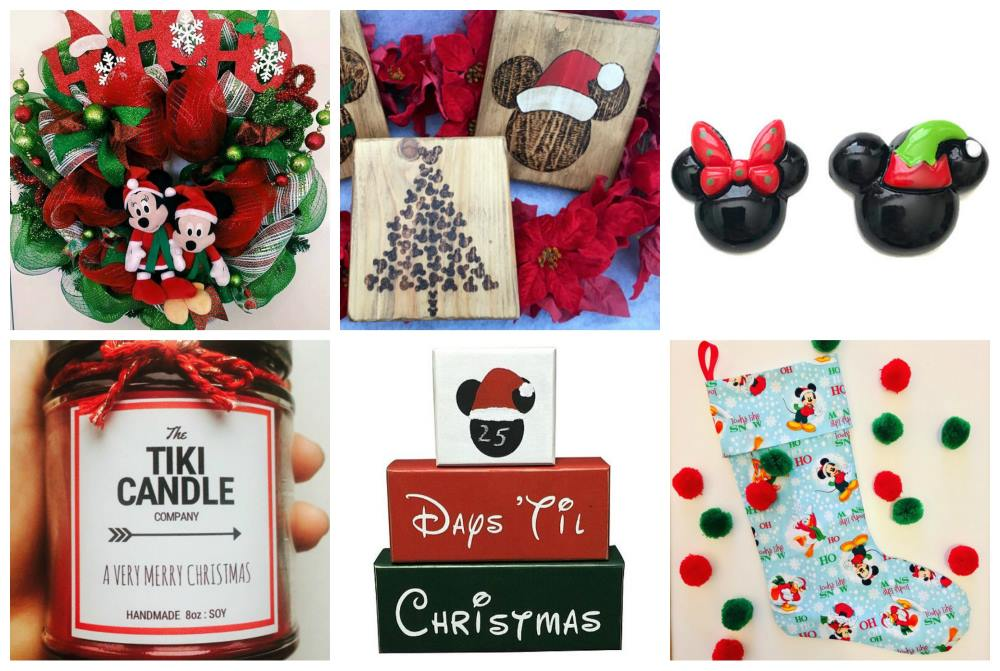 20 Handmade Disney Holiday Items for Your Home