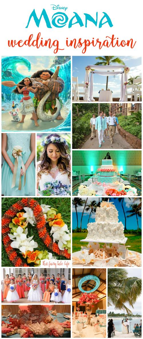 MOANA Wedding Inspiration