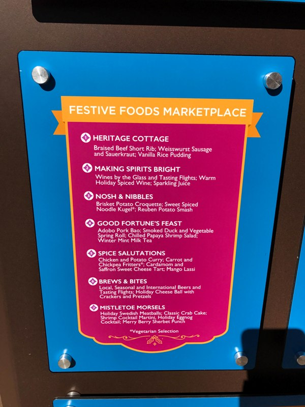 First Look at the Food and Drinks Available at Festival of Holidays at Disneyland