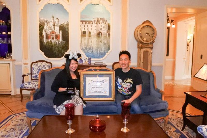 Take a Peek Inside Disneyland's Dream Suite with these Diamond Celebration Winners!