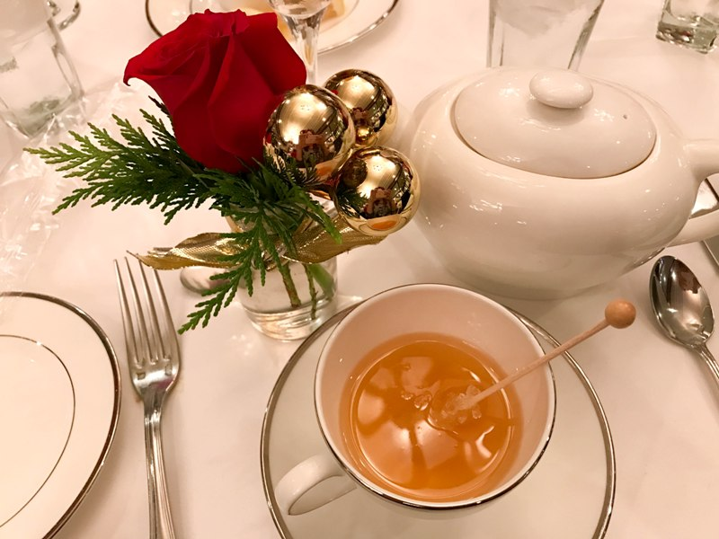 A Very Merry Holiday Tea Party at Steakhouse 55