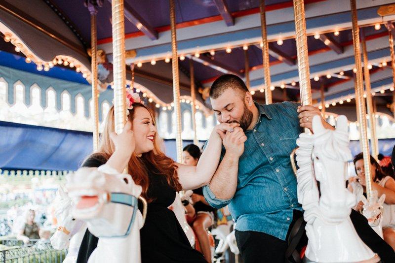 Alex and Claudia's Anniversary Photo Shoot at Disneyland Park
