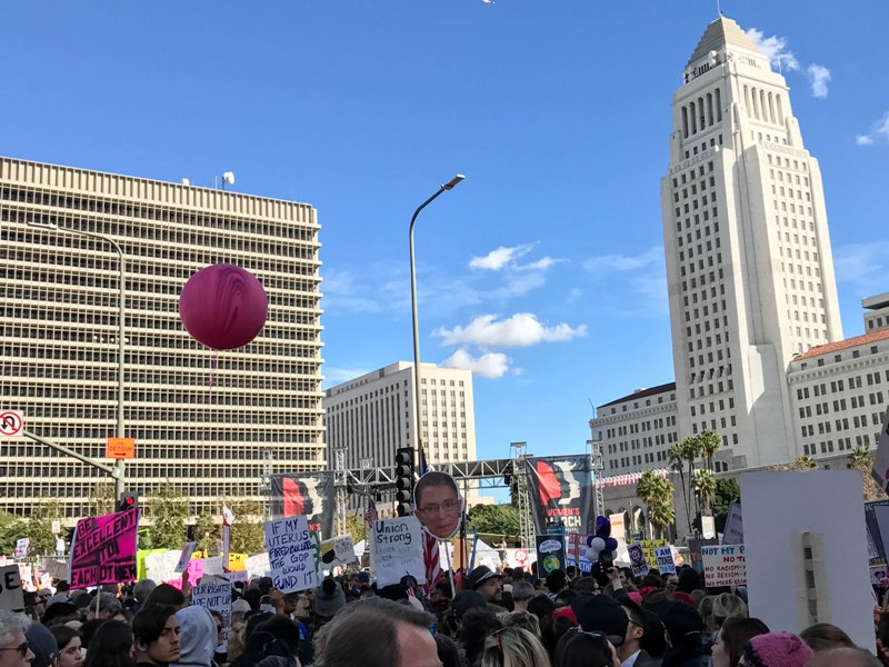 The Los Angeles Women's March from My Point of View