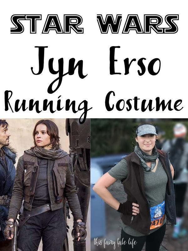 STAR WARS Jyn Erso Running Costume Tutorial