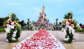 Disneyland Paris Now Offering Weddings and Vow Renewals
