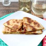Goat Cheese and Pesto Quesadilla Recipe