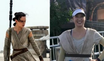 STAR WARS Rey Running Costume Tutorial