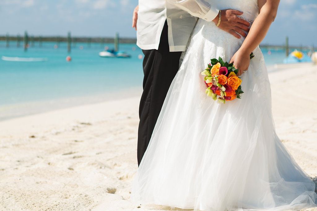 Michelle And Jim S Stress Free Castaway Cay Wedding