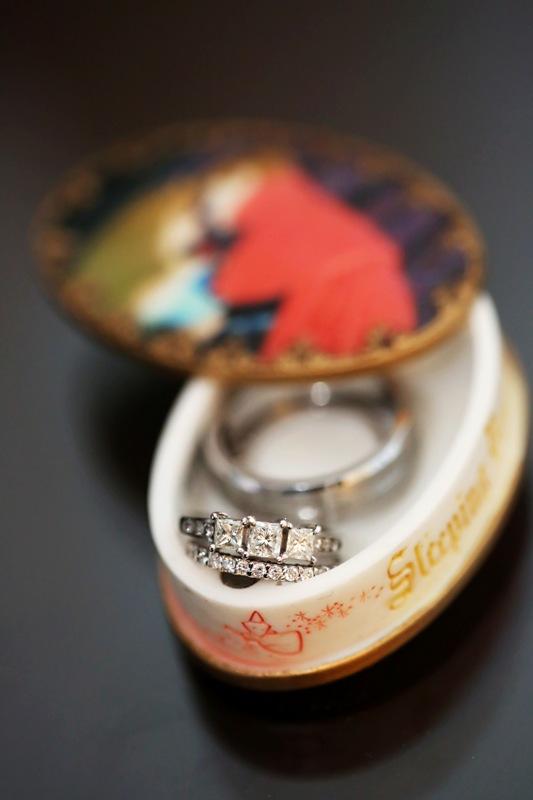 Dezarae and Ka'ohu's Fairy Tale Disneyland Escape Wedding