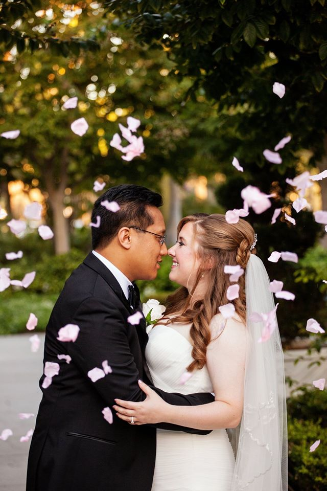 How to Get the Perfect Petal Toss Shot
