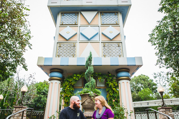 Maura and Tim's Disneyland Engagement Photos // NONPAREIL Weddings