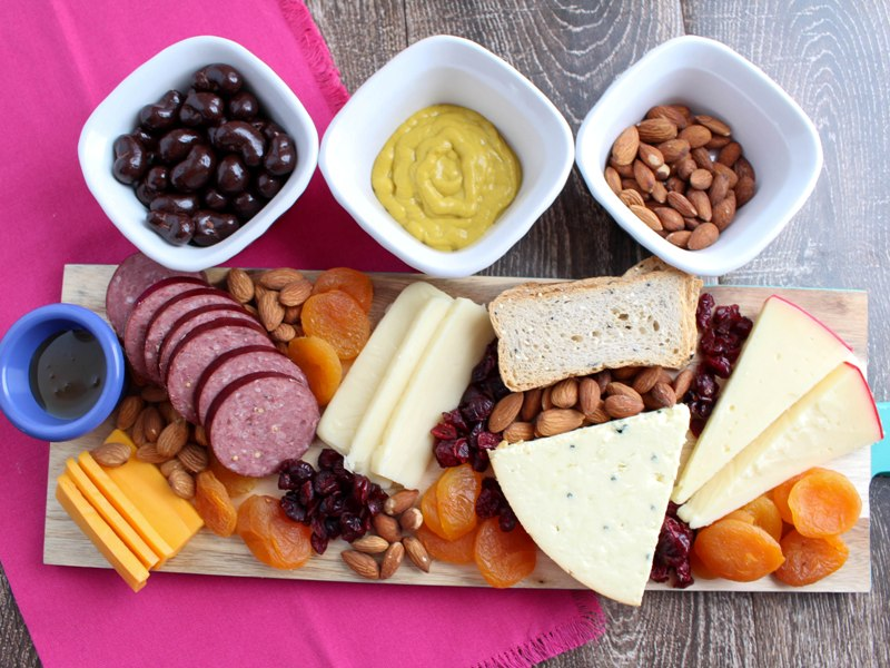 Make Your Own Red, White, and Rosé Wine Tasting and Cheese Board