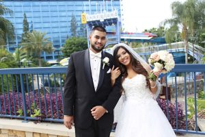 Dezarae and Ka'ohu's Fairy Tale Disneyland Escape Wedding