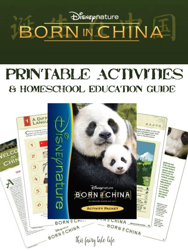 BORN IN CHINA Printable Activities and Educator's Guide
