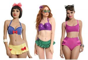 The Ocean is Calling with these Disney Suimsuits
