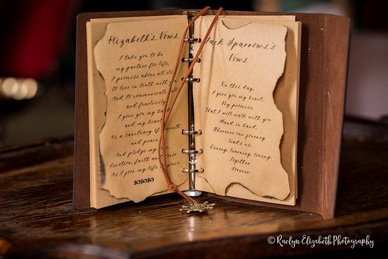 PIRATES OF THE CARIBBEAN Wedding // Raelyn Elizabeth Photography