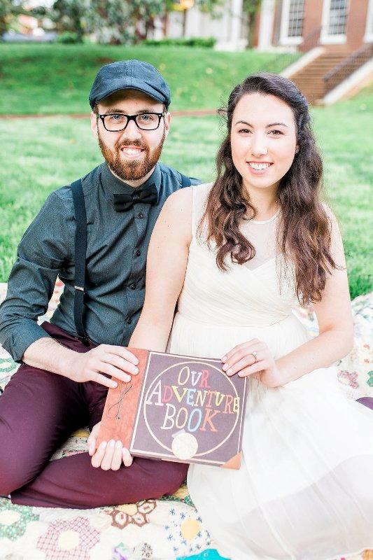 Amanda and Ryan's Super Sweet UP Engagement Photos