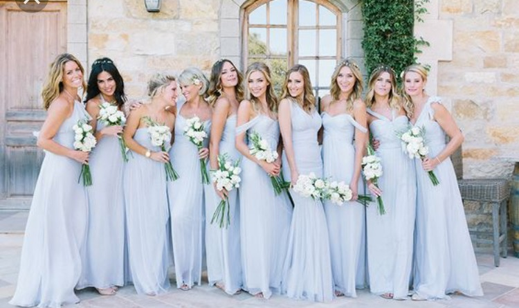 Tips for Bridesmaid Dress Shopping with a Large Bridal Party