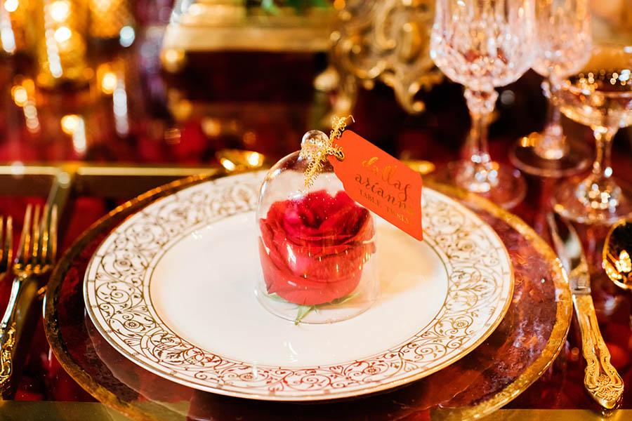 Wedding Decor Inspired by Disney Princesses