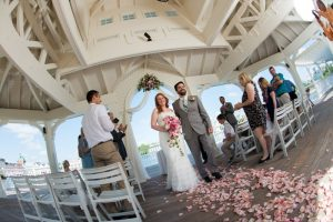 Jennifer and Robert's Walt Disney World Boardwalk Escape Wedding