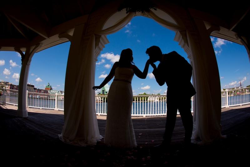 Jennifer and Robert's Walt Disney World Boardwalk Escape Wedding