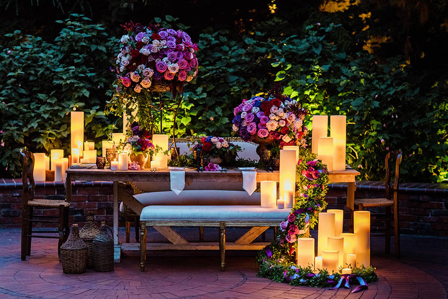 Wedding Reception Decor Inspired by Disney Princesses