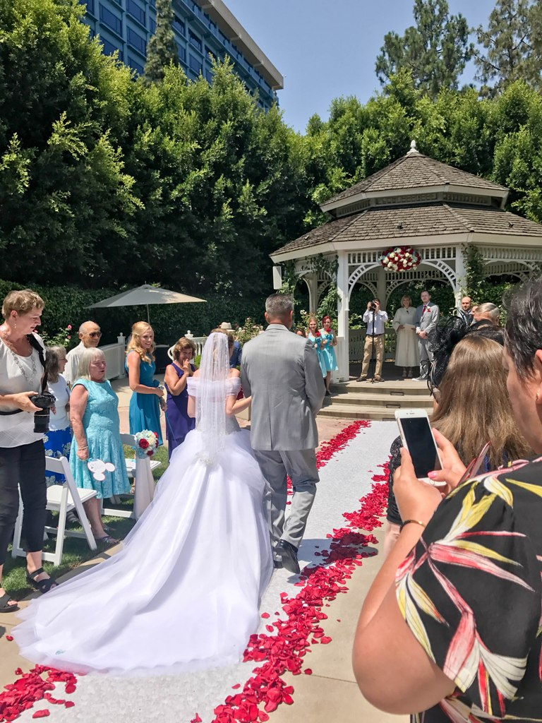 "A True ""Guest Post"" - Andrea and Ryan's Beauty and the Beast Inspired Disneyland Wedding"
