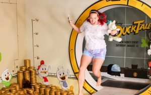 What it's Like to Jump into Scrooge McDuck's Money Bin