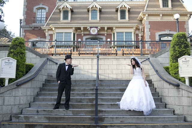 NEW In-Park Disneyland Wedding Option: Main Street Train Station!