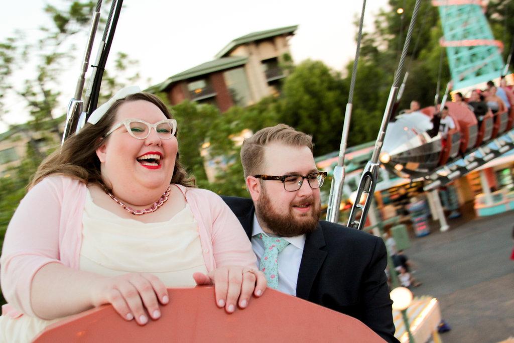 Steph and Shelby's Wedding Day Disneyland Photo Shoot!
